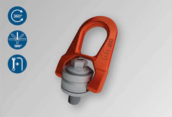 CODIPRO: Double swivel lifting ring DSR