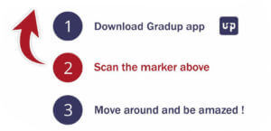 The 3 steps to be able to enjoy the GRADUP range in virtual reality