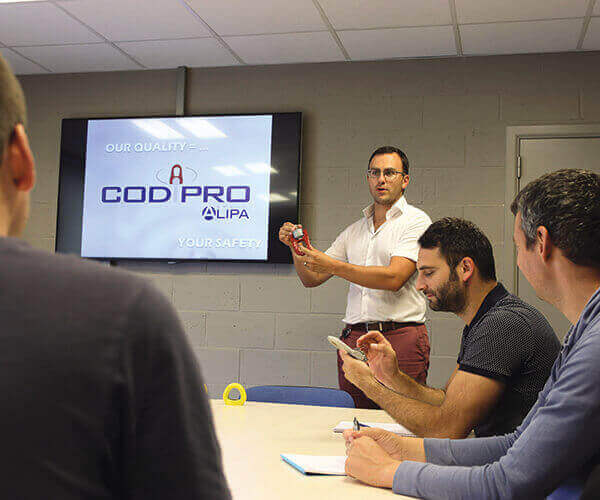 CODIPRO has a training centre
